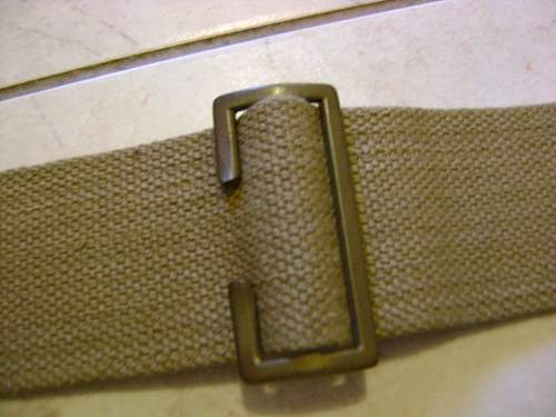 Indian made washroll ,Pattern 37 waterbottle carrier and L-straps