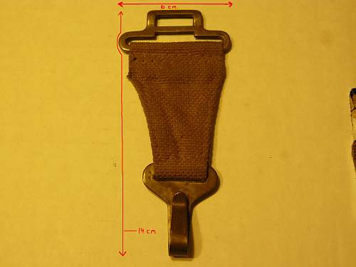 Any thoughts on this piece of P-37 webbing