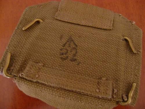 Pattern 37 pistol pouch arrival
