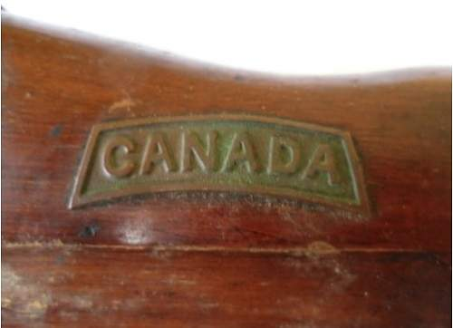 Awesome piece of Canadian Trench art