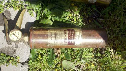 1950's USAF fire extinguisher