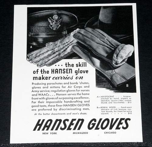 US bomber gloves? (Hansen gloves)