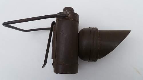About British torch(flashlight)
