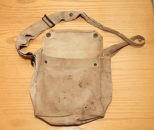 Help please! British gas mask bag