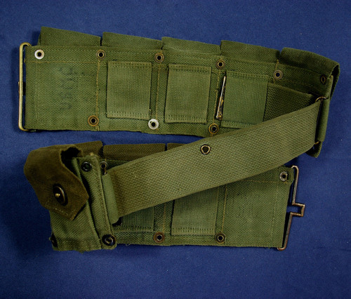 Dating the USMC Garand belt.