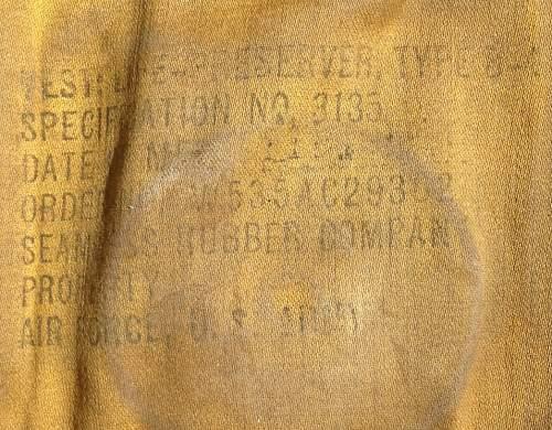 USAAF Life Vest