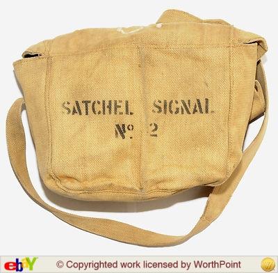 Signals Satchel no. 2