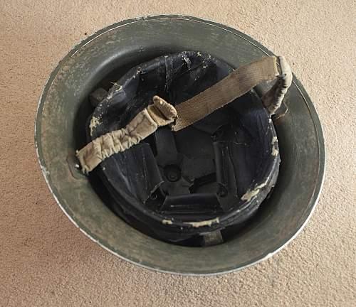 WW2 British Tommy helmet