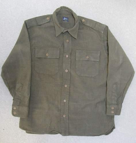 WW2 British Priv Purchase officers shirt