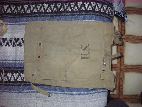 Help identifing this group of WW2 US field gear