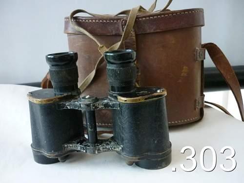 1944 British Air Ministry Binoculars
