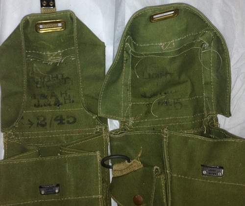 US Canvas Pouches - Ammo?