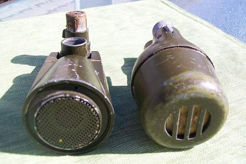 US M43 microphones.....what were they used for