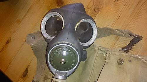 Can anyone I d this Gas mask ?