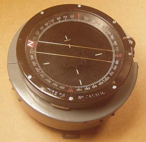 RAF Type P8 compass rebuild