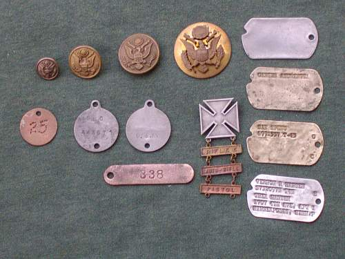 US dog tags.