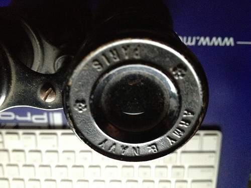 Army & Navy Paris Binoculars ?