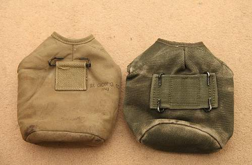 Help with US canteen covers
