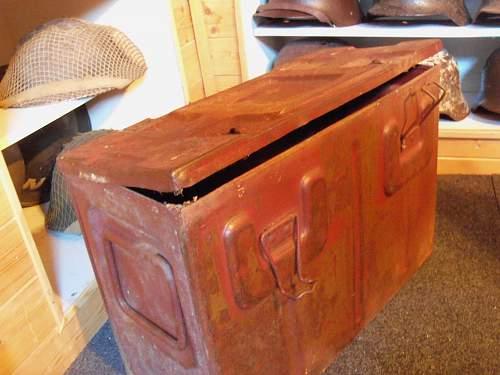 ww2 british ammo box