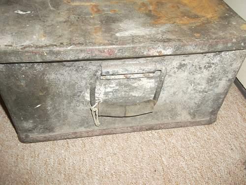 Royal Navy 2pdr Shell Ammo Box