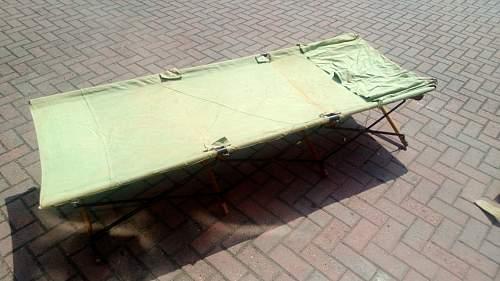 ww2 era bed found in charity shop??