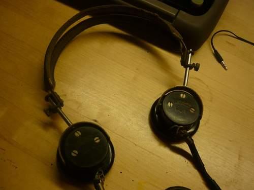 Unknown WWII US Headphones