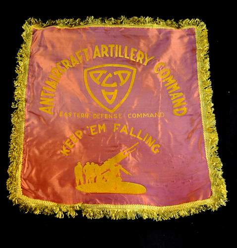 U.S. Sleeping bag, pillow shams & surgical kit. ( yard sale find )