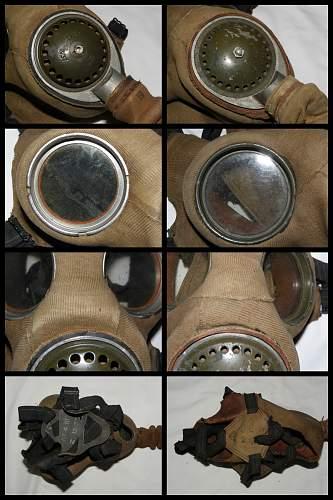 BEF (British Expeditionary Force) MkIV Respirator