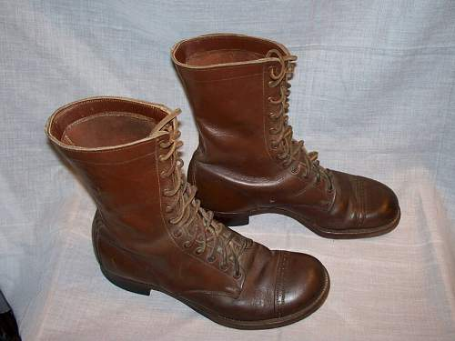 Information on US Army boots