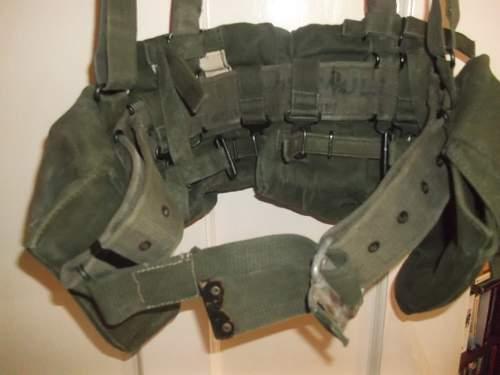58 Patt Webbing Belt Modification