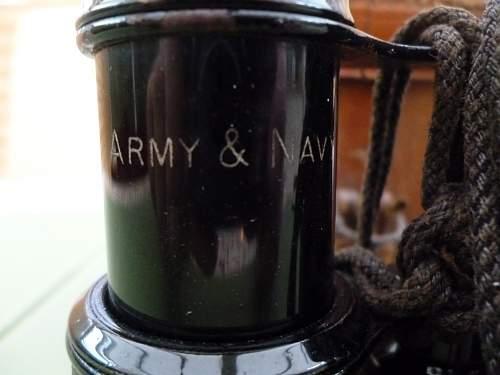 Army and Navy Binoculars