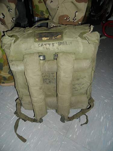 vietnam era backpack Named .