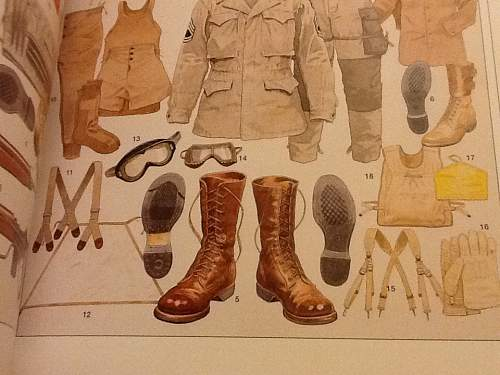 Ww2 boots, combat, service?