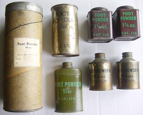 Foot powder: a lesson learnt from the Great War