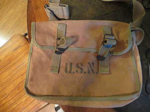 U.S.N. Medic Pack and Surgical Case