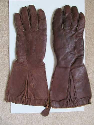 Raf leather glight gloves