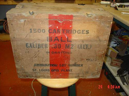 .30 Cal Ammo Crate ~ Help Needed Please