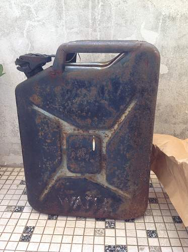1953 water jerry can for Austin Champ