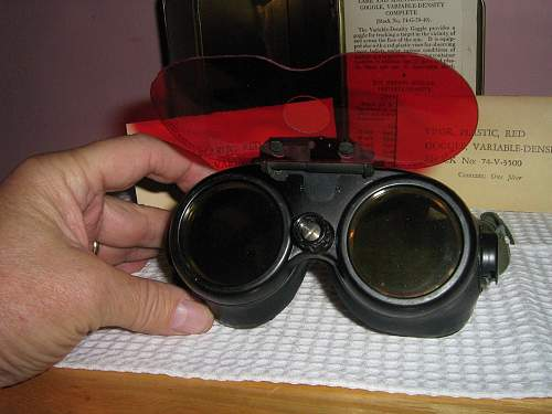 Variable Density Goggles