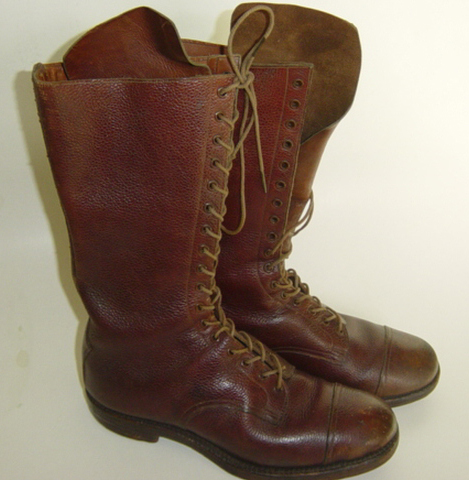 British Officers high leg boots