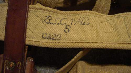 Click image for larger version.  Name:03 Belt marked 'B.S.C. 1942'.jpg Views:282 Size:226.1 KB ID:657364