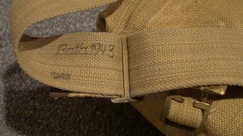Click image for larger version.  Name:42 Right Shoulder Strap marked 'BATA 1943'.jpg Views:55 Size:226.4 KB ID:657403