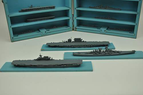 Wartime model ship