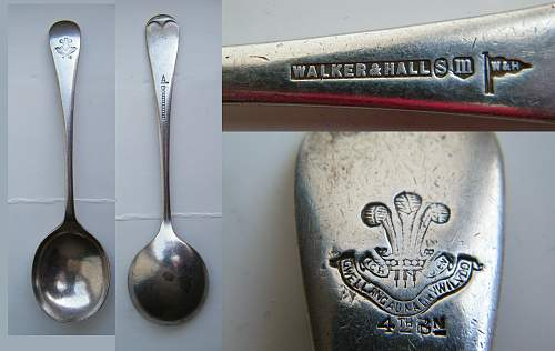 Arrow marked 1942 dated large spoon