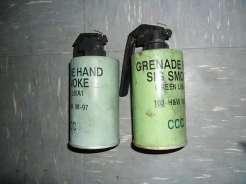 smoke grenades identification