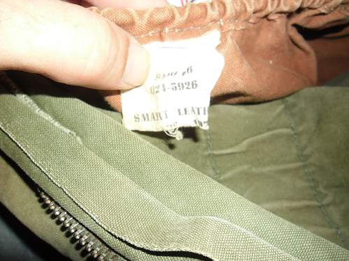 dated vietnam era kit bag ????