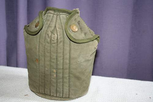 Is this Canteen cover good for AUST Nam display?