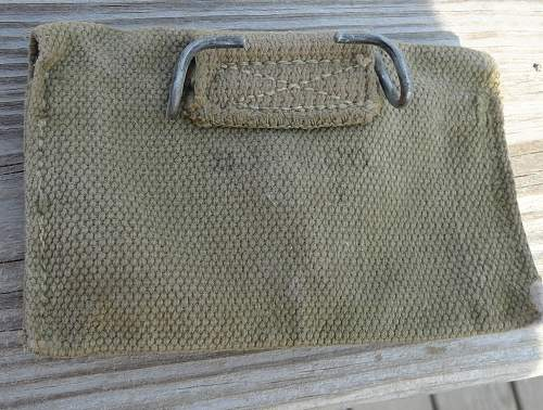 US Canteen and Cup First Aid Packet