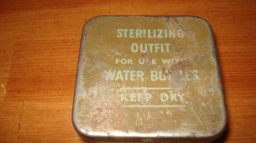 British Sterilizing Outfit