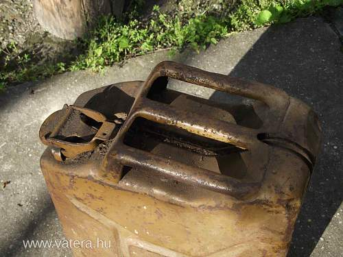 British 1942 Jerry Can